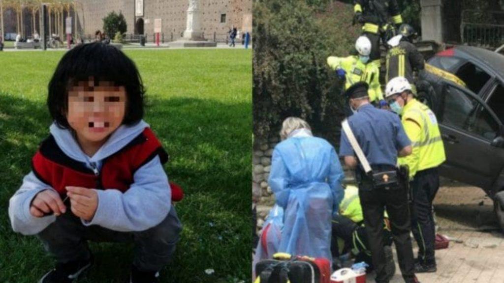 Tragedia in Italia, travolto da un auto muore a 3 anni