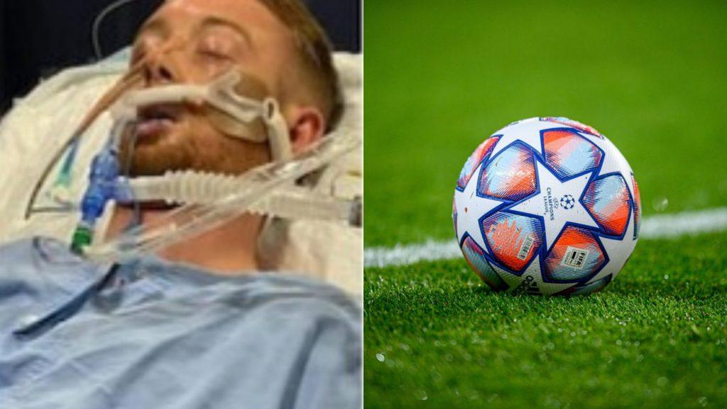 Calcio sotto choc, l'attacante è stato aggredito alle spalle